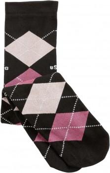 "USG Karostrümpfe ""Nylons"" Unisize schwarz/pink/rosa"