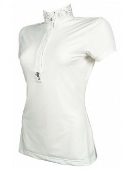 HKM Damen Turniershirt -Seaside- weiss